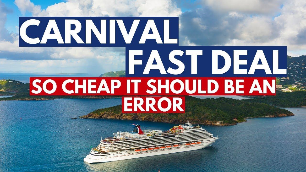 Last Minute Cruise Deals >> Carnival Vista Cruise Deal Fast Cruise Deal For Last Minute Cruise