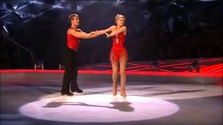 Zoe Salmon  Matt Evers Dancing On Ice Week 3