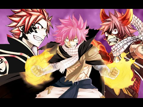 Fairy Tail - Natsu All Forms - YouTube