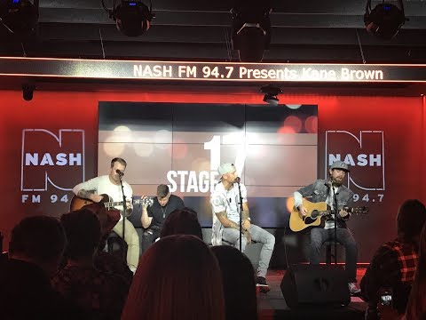 Kane Brown - What Ifs (Live) // Nash FM...