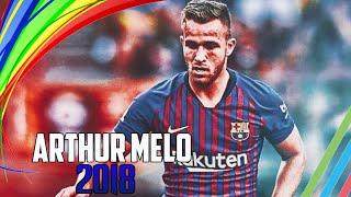 Arthur Melo - New Xavi Hernández • 2018 ° Best Skills Barcelona & Gremio