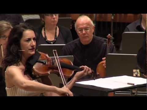 Excerpts: Louis Andriessen's La Girò. Monica Germino, violin/voice