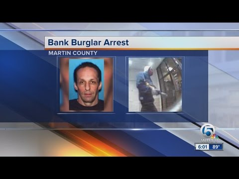 Sheriff: Bank burglar suspect hit banks before