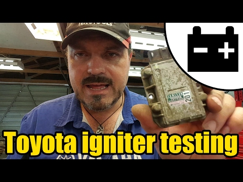 How to test a Toyota ignition igniter #1421 - YouTube