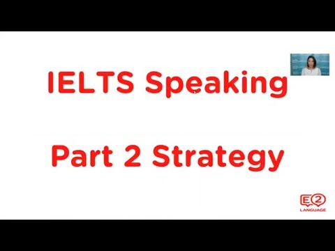 IELTS SPEAKING: Part 2 | How to improve your PRESENTATION SKILLS!