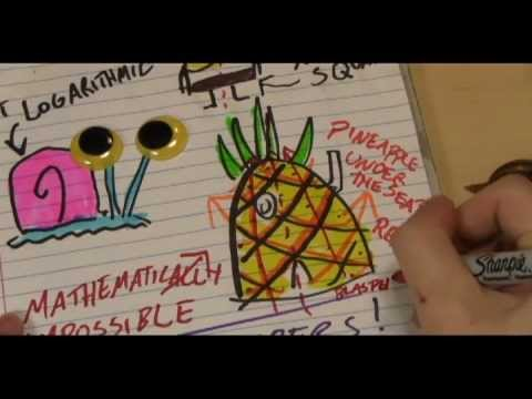 Video image: SpongeBob's house is not a pineapple