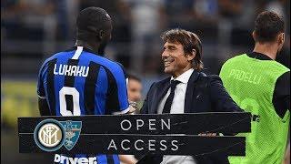 OPEN ACCESS   INTER 4-0 LECCE   A DREAM START! 📹⚫🔵