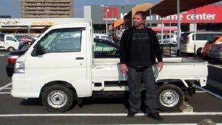 Kei Trucks in Japan