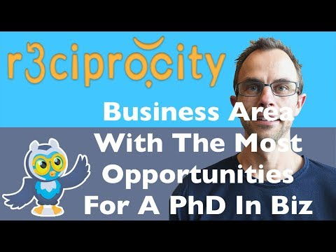 Strategy? Accounting? Marketing?: Which Area Has The Most Opportunities For A PhD In Business?