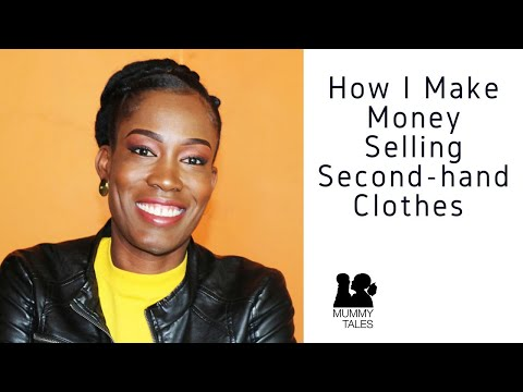 How I Make Money Selling Second-Hand Clothes (Online Business)