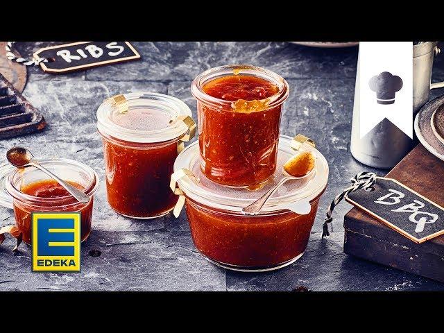 Bbq Sauce Rezept Leckere Grill Sauce Selber Machen Edeka Youtube