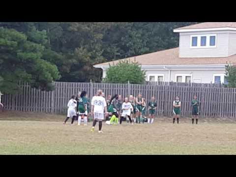 Cumberland Christian School Girls Soccer Game 2016