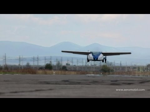 Flying car spreads its wings in Slovakia