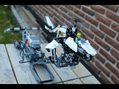 Lego Technic Flight simulator stand for set 42057
