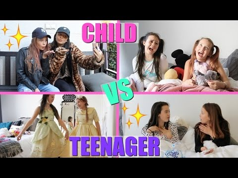 CHILD VS TEEN YOU | GIRLYS BLOG