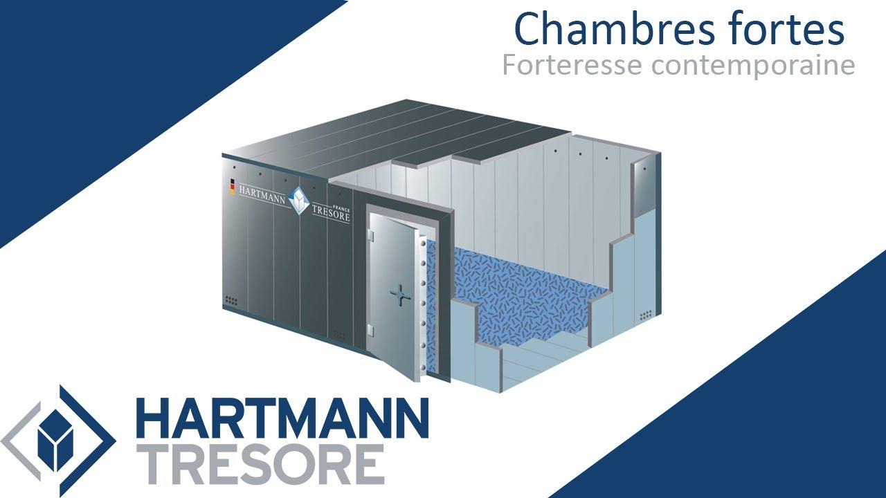 Chambre forte - Panic Room - pièce blindée - Hartmann Tresore®