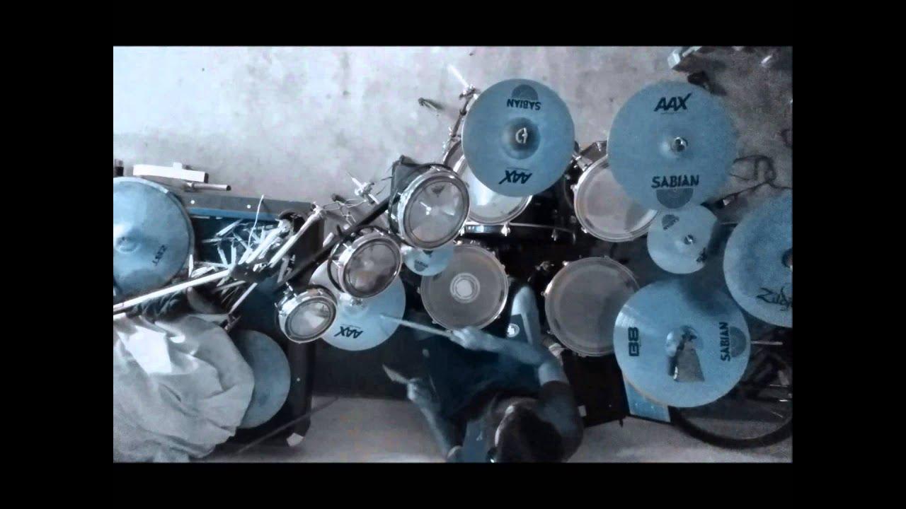 Live Wire - Motley Crue Drum Cover - YouTube
