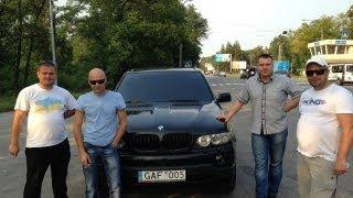 Возвращение BMW Х5 в Харьков с поздравлением от ГАИ