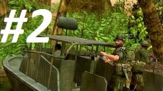 Conflict: Vietnam: Walkthrough on Extreme - Mission 2 - Rumble in the Jungle