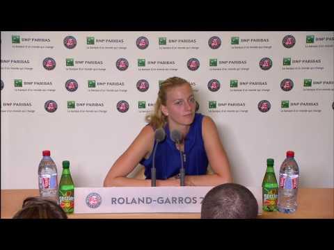 Petra Kvitova Roland Garros Round 3 Post Match Interview