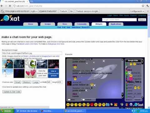 Como Crear Un Chat Para Mi Web En 3 Minutos Facil 2012