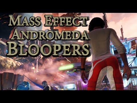 Mass Effect Andromeda - Bloopers, Glitches & Silly Stuff