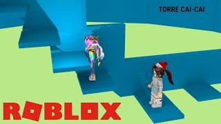 ROBLOX-JOGUEI COM A JULIA GAMER -JUJUBACRAFT234-Torre del Infierno