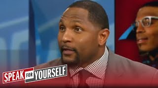 Whitlock 1-on-1: Ray Lewis would have tried to hit Cam Newton like a RB | SPEAK FOR YOURSELF