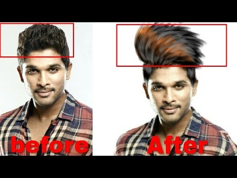 How To Change Hair Style Like Cb Hearpicsart And Autodesk