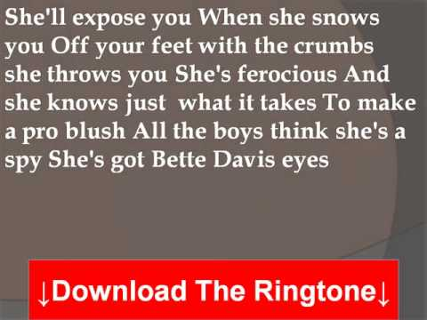 Gwyneth Paltrow  Bette Davis Eyes Lyrics