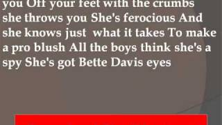 Gwyneth Paltrow - Bette Davis Eyes Lyrics