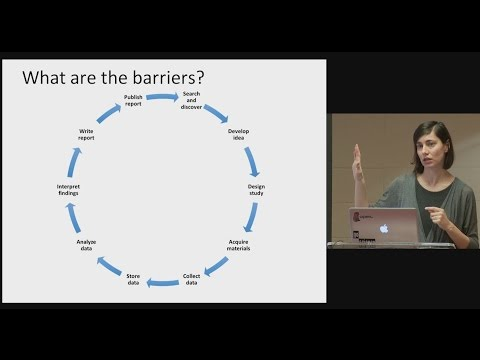 Reproducibility of Scientific Findings: Barriers and Solutions (April Clyburne-Sherin)