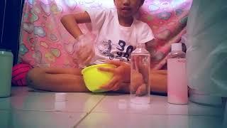 Riview slime kit jlo market + membuat slime