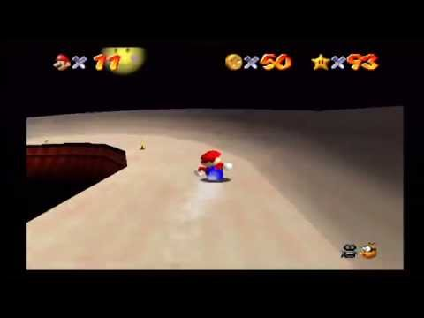 Super Mario 64: Tall, Tall Mountain (Mysterious Mountainside / Star #94)