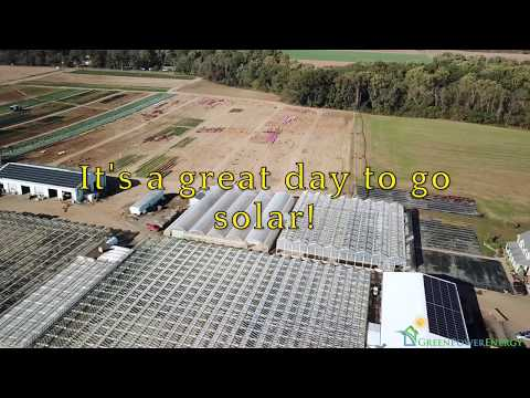 A great day to go solar with Green Power Energy at Selle Farms in Wrightstown, NJ.