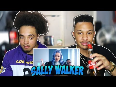 Iggy Azalea - Sally Walker    Reaction