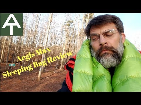 Aegis Max Sleeping Bag Review