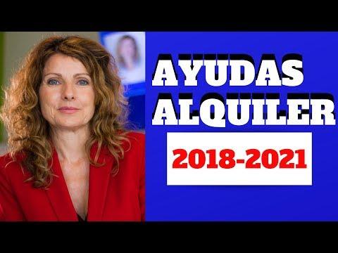 Ayudas Para El Alquiler 2018-2021 España. Ayudas Alquiler Por Comunidades Autónomas.Plan Vivienda