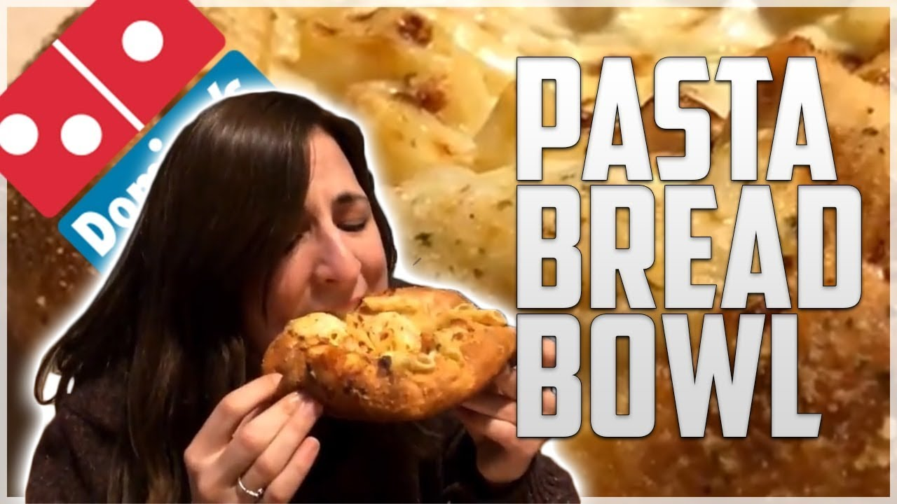Dominos Pasta Bread Bowl Review with Pastaface - YouTube