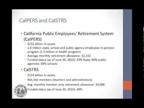 CalPERS and CalSTRS
