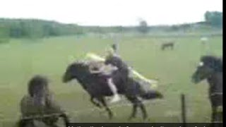 dead guy jumps on wild horse very dangerous and stupid rick gore horsemanship