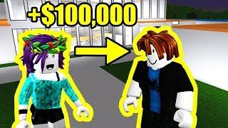If you WEAR BACON HAIR, I give you $100,000... | Roblox Bloxburg