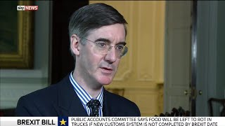 "Jacob Rees-Mogg on Brexit ""We have to be ready on day one"""