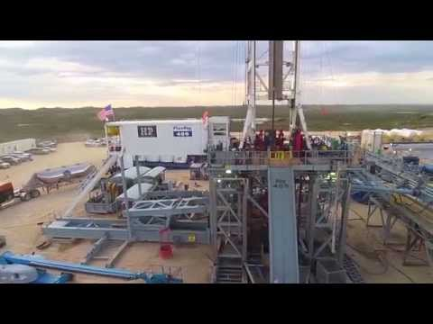 Drone at Drilling Rig