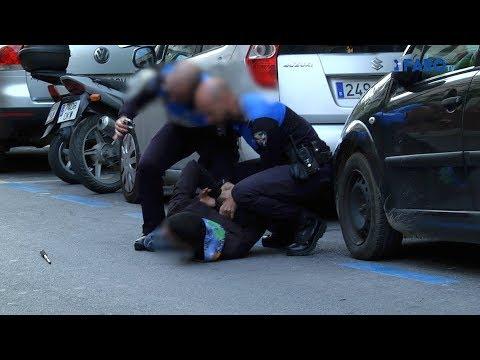 Policía Local detiene en el centro a un ladrón de móviles