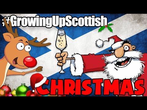 GROWING UP SCOTTISH    CHRISTMAS
