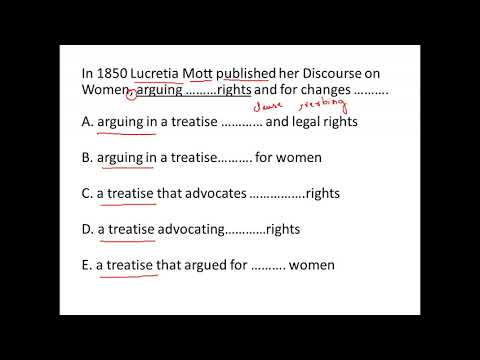 In 1850, Lucretia Mott published her Discourse on Women
