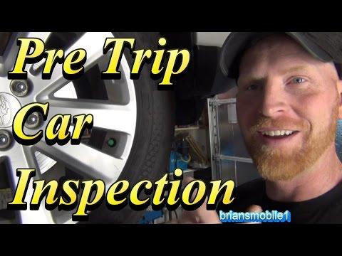 Pre Trip Car Inspection