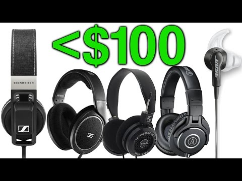 Top 5 Headphones Under $100!