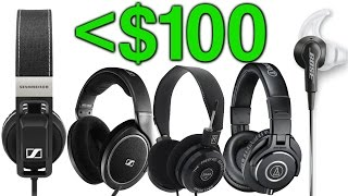 Video Top 5 Headphones Under $100! download MP3, 3GP, MP4, WEBM, AVI, FLV Juli 2018